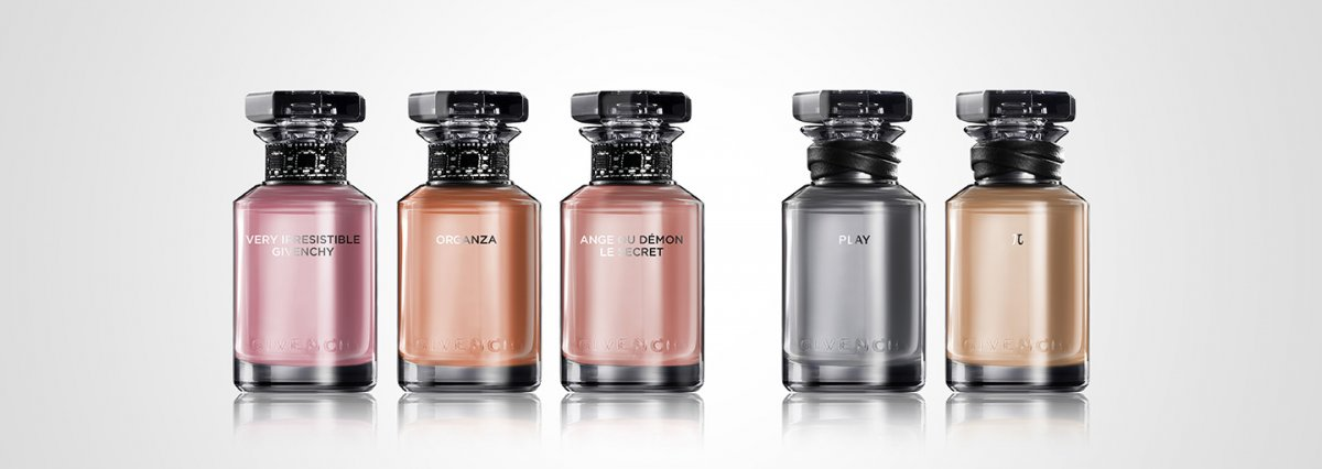 Parfums couture lace and leather — Givenchy